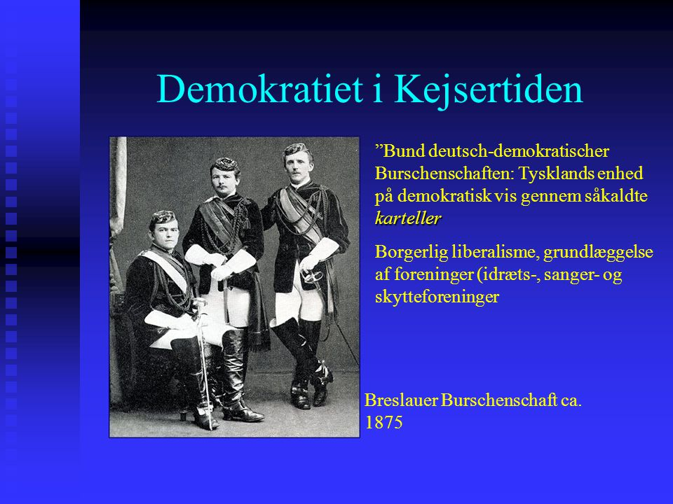 Demokratiet i Kejsertiden