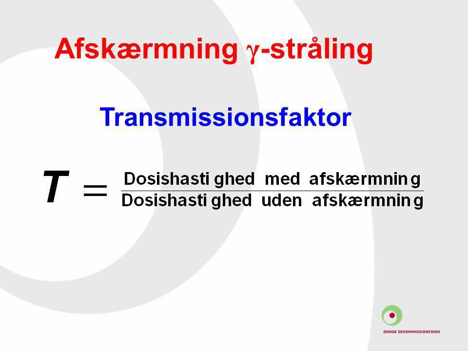 Afskærmning γ-stråling