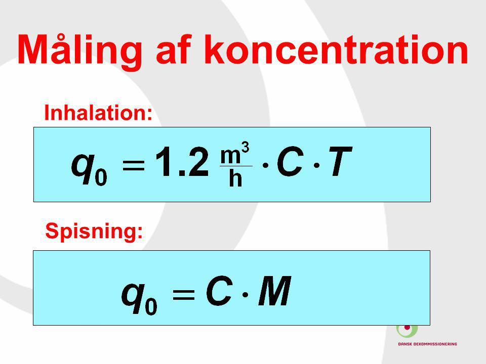 Måling af koncentration