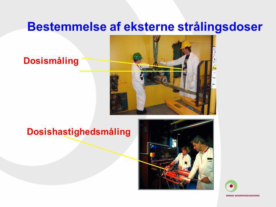Bestemmelse af eksterne strålingsdoser