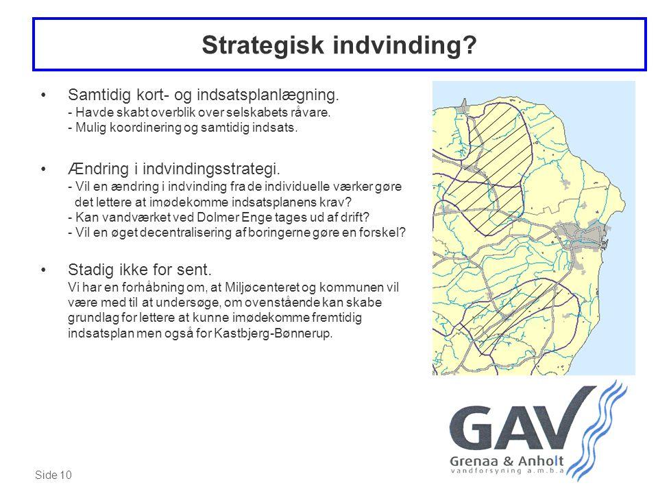 Strategisk indvinding