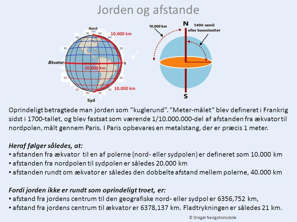 Jorden og afstande