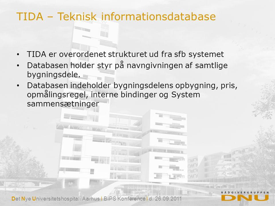 TIDA – Teknisk informationsdatabase