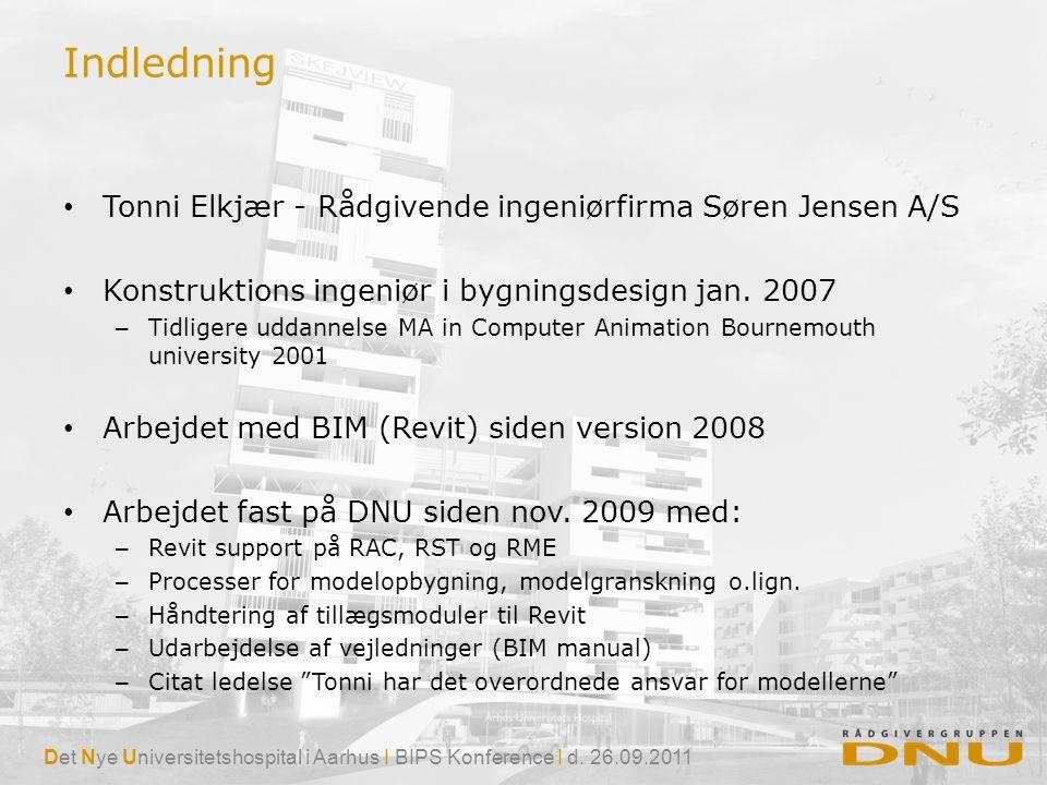 Indledning Tonni Elkjær - Rådgivende ingeniørfirma Søren Jensen A/S