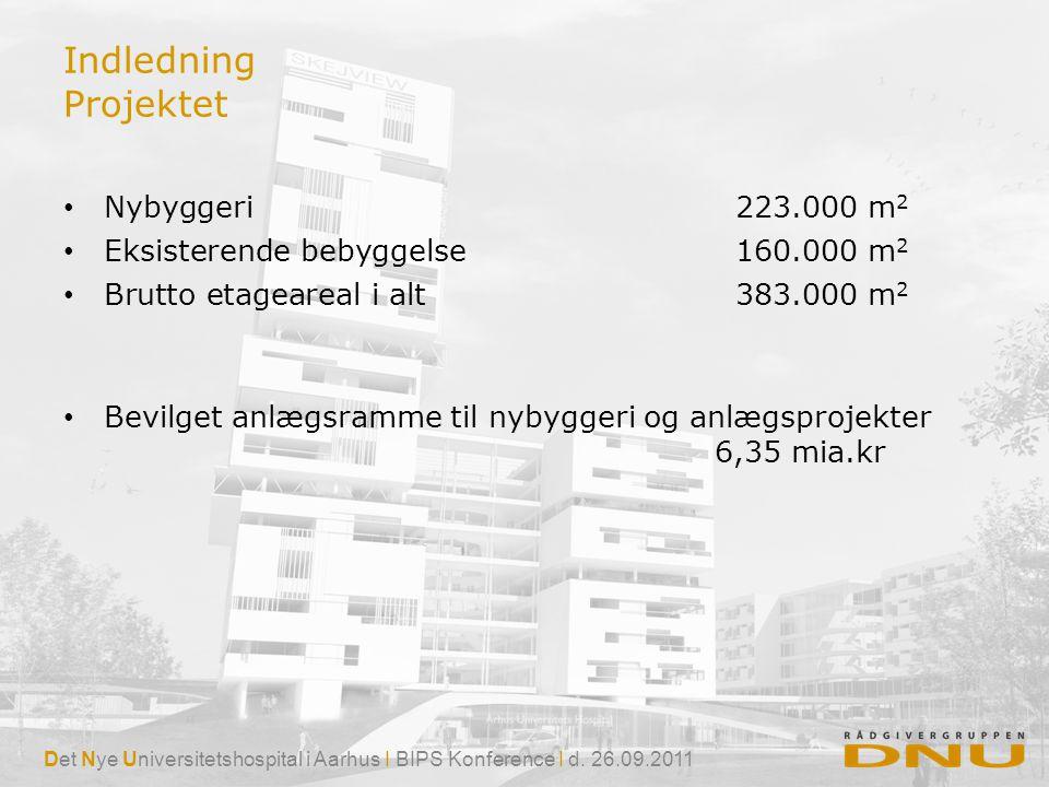 Indledning Projektet Nybyggeri 223.000 m2