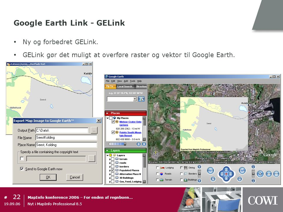 Google Earth Link - GELink