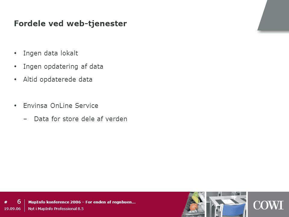 Fordele ved web-tjenester