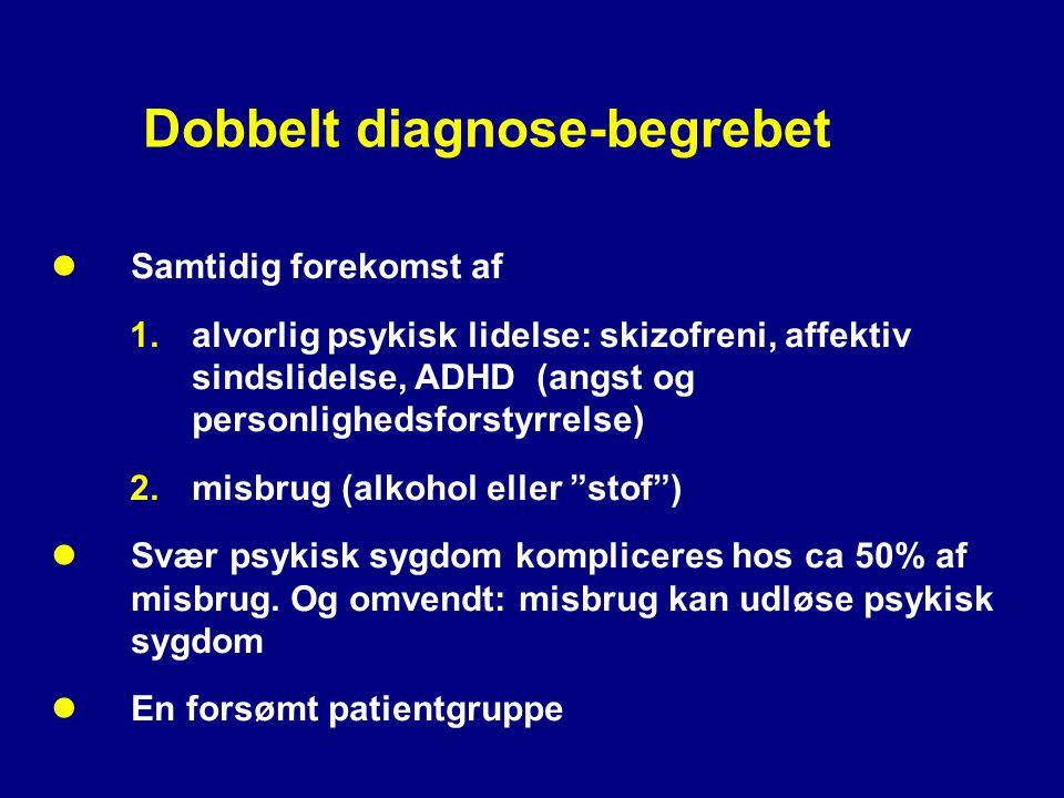 Dobbelt diagnose-begrebet
