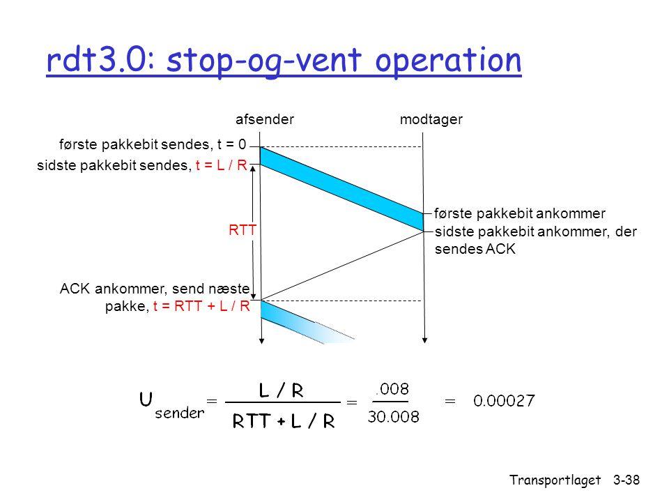 rdt3.0: stop-og-vent operation