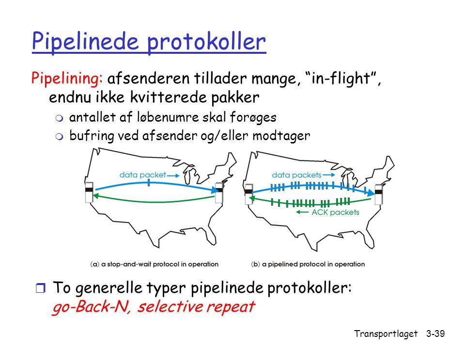 Pipelinede protokoller