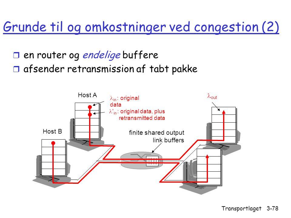 Grunde til og omkostninger ved congestion (2)