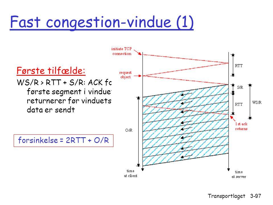 Fast congestion-vindue (1)