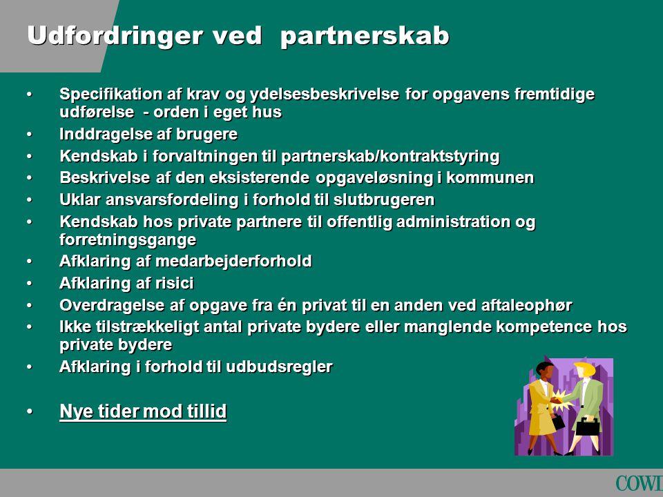 Udfordringer ved partnerskab