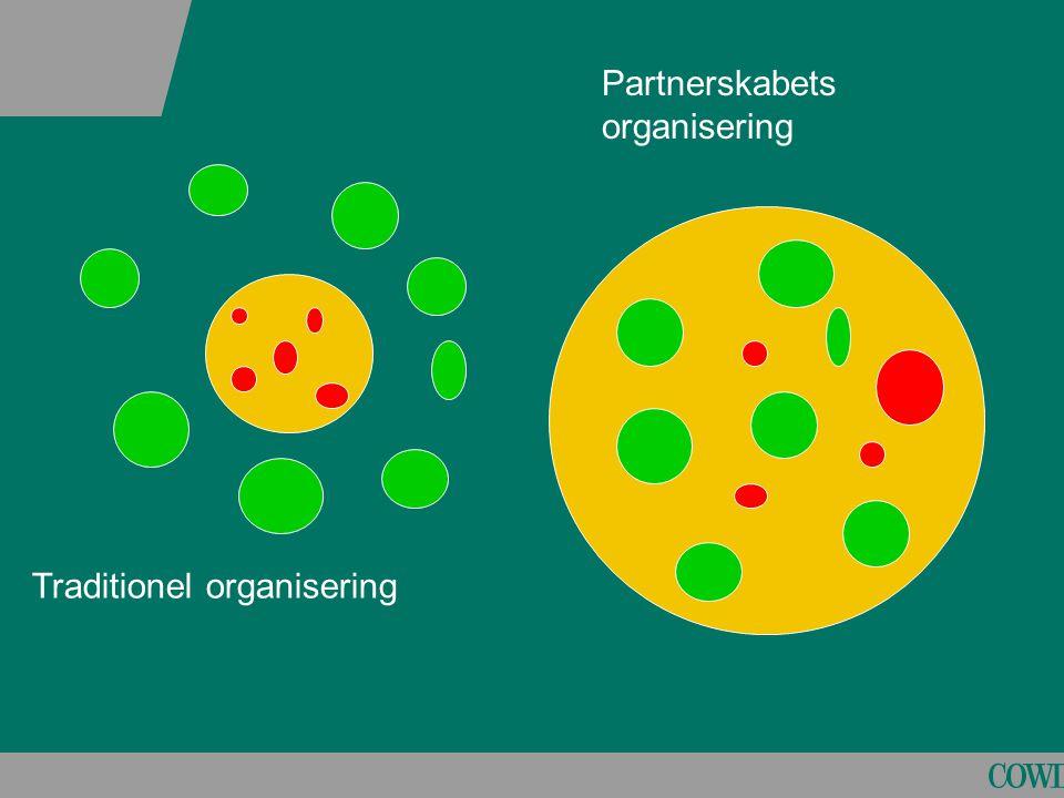 Partnerskabets organisering
