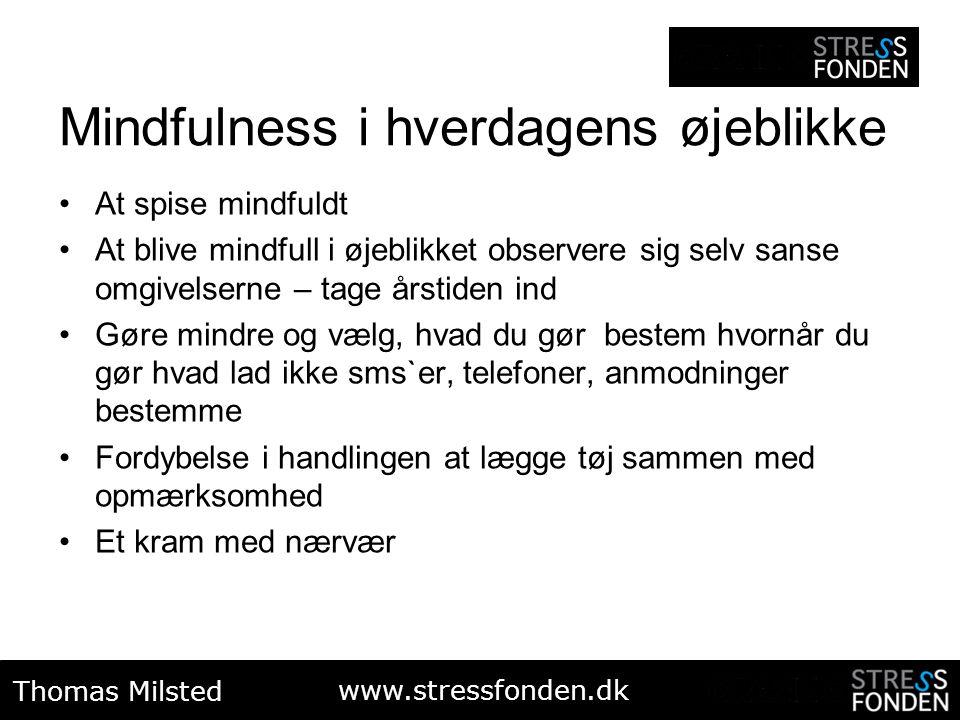 Mindfulness i hverdagens øjeblikke