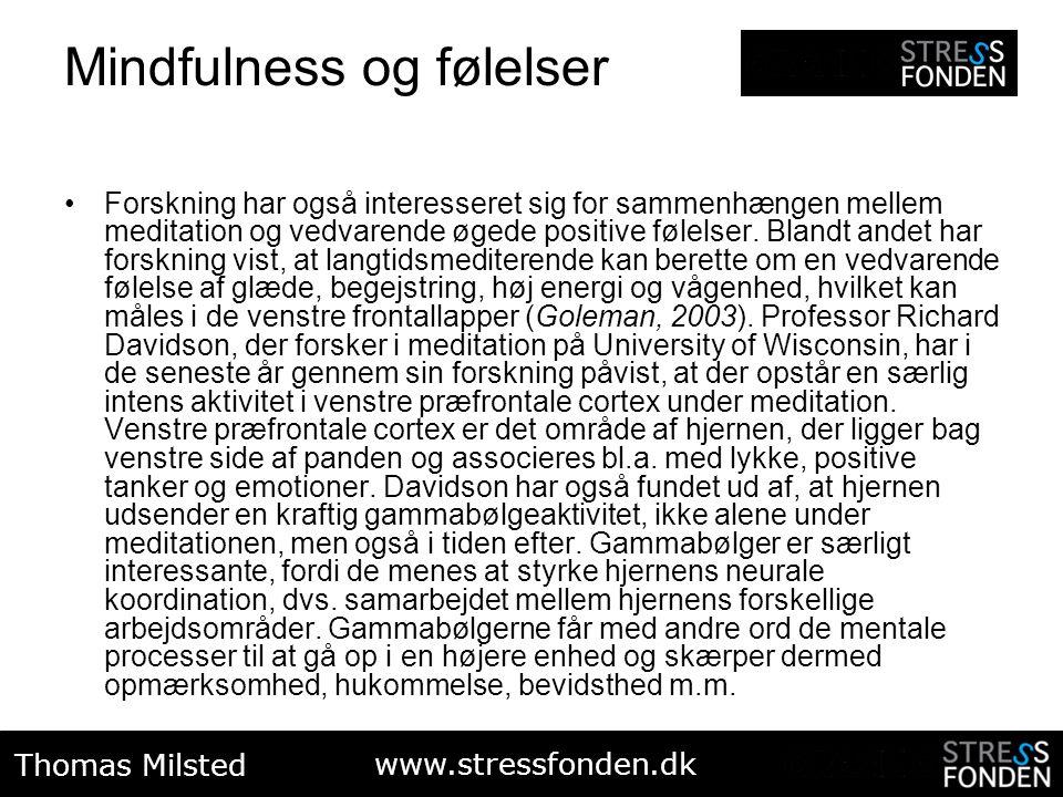 Mindfulness og følelser