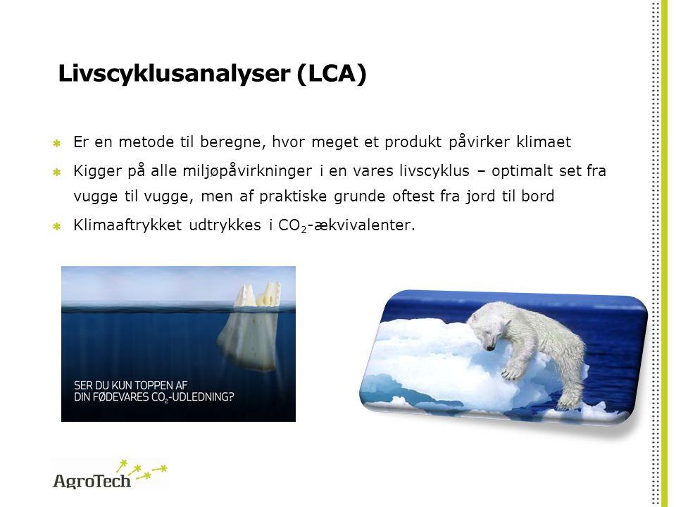 Livscyklusanalyser (LCA)