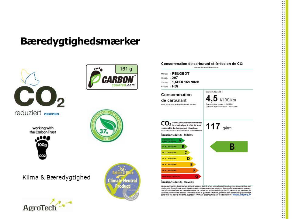 Bæredygtighedsmærker