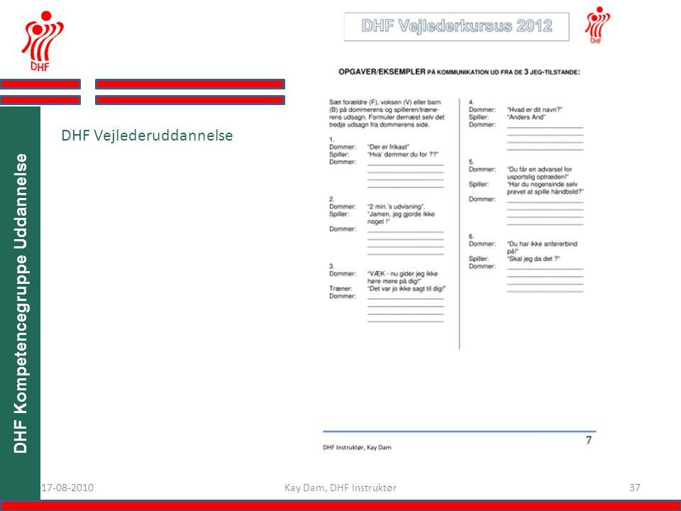 DHF Kompetencegruppe Uddannelse