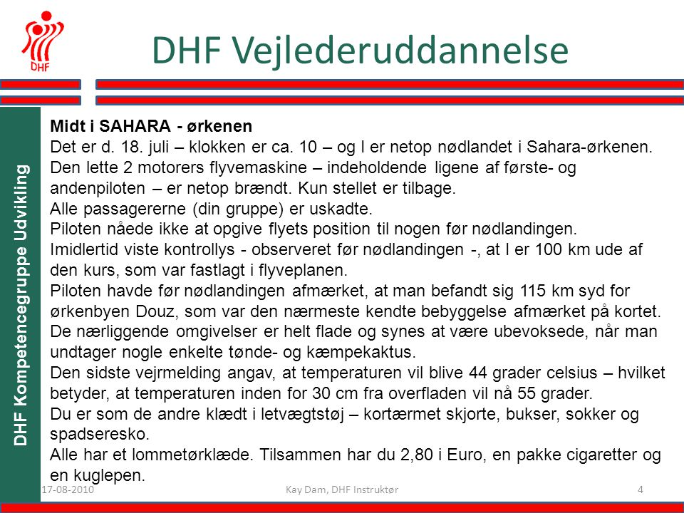 DHF Kompetencegruppe Udvikling