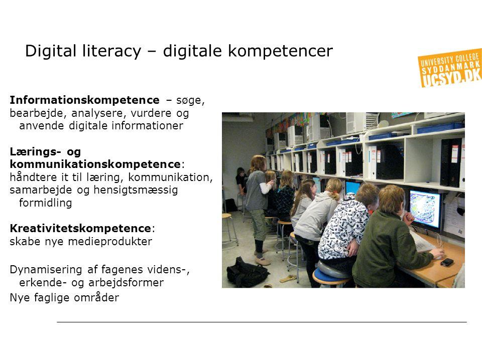Digital literacy – digitale kompetencer