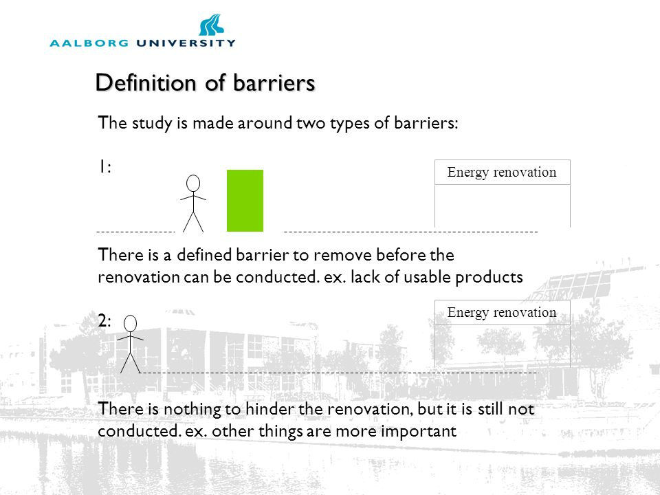 Definition of barriers