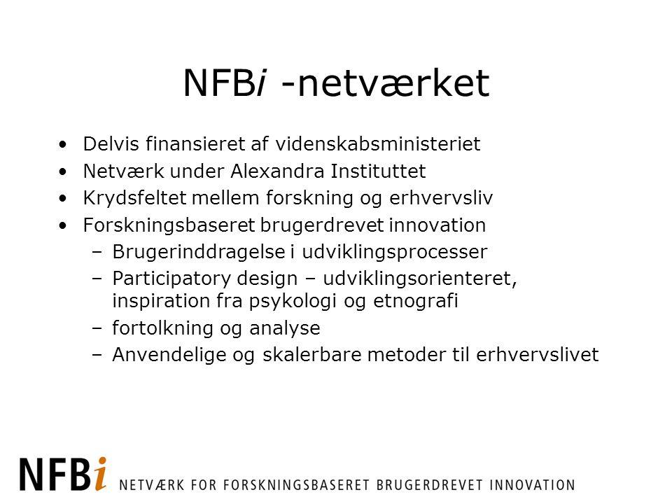 NFBi -netværket Delvis finansieret af videnskabsministeriet