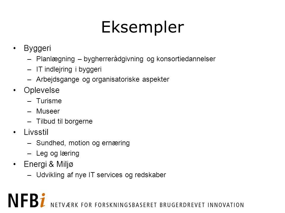 Eksempler Byggeri Oplevelse Livsstil Energi & Miljø