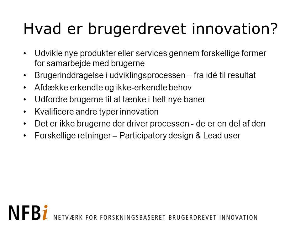 Hvad er brugerdrevet innovation