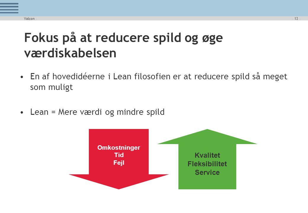 Fokus på at reducere spild og øge værdiskabelsen