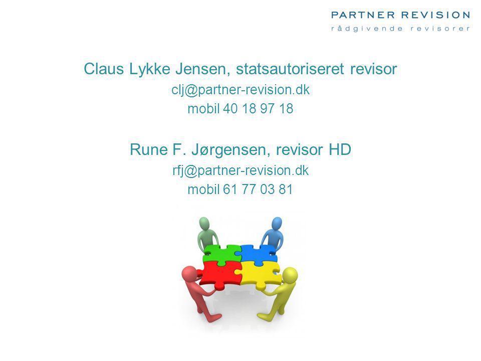Claus Lykke Jensen, statsautoriseret revisor