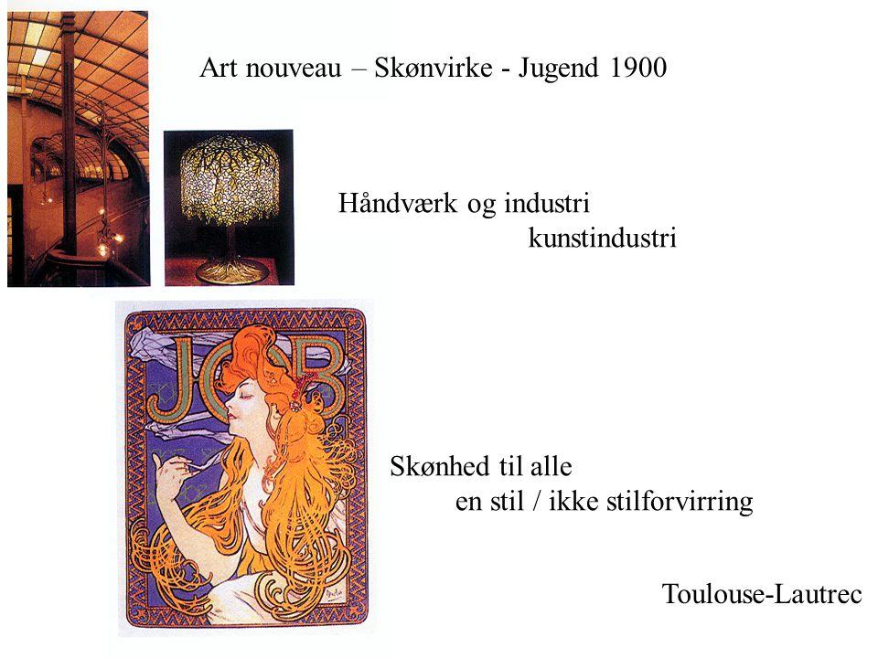 Art nouveau – Skønvirke - Jugend 1900