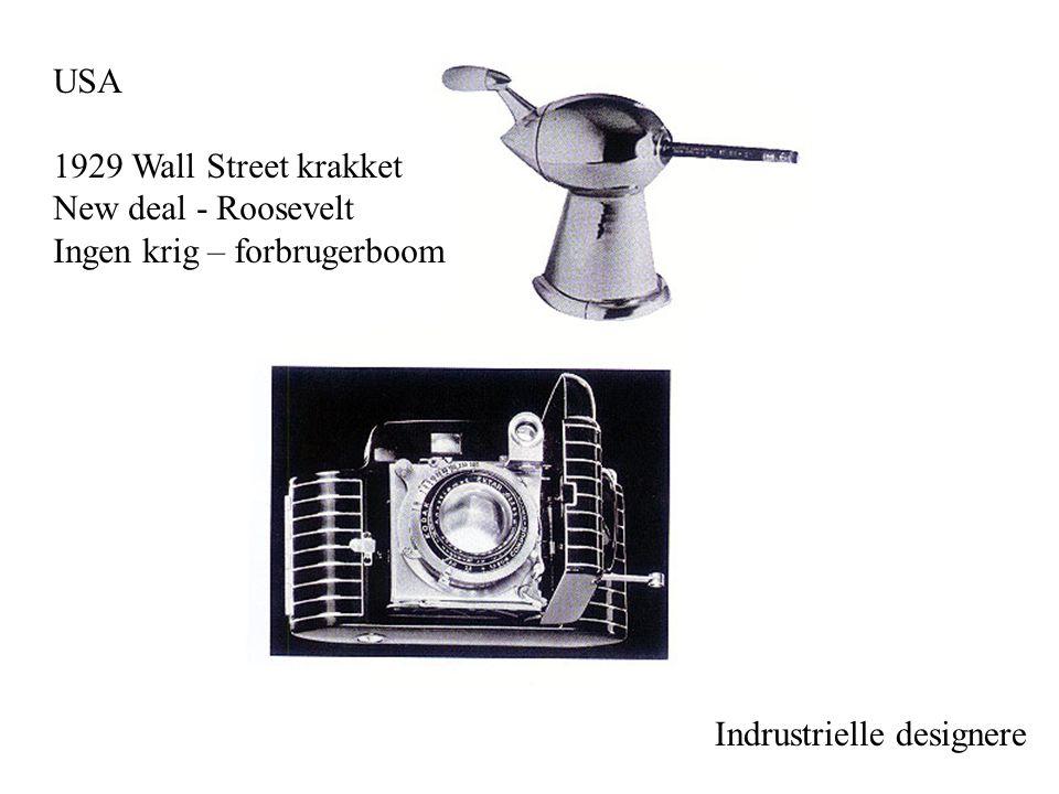 USA 1929 Wall Street krakket. New deal - Roosevelt.