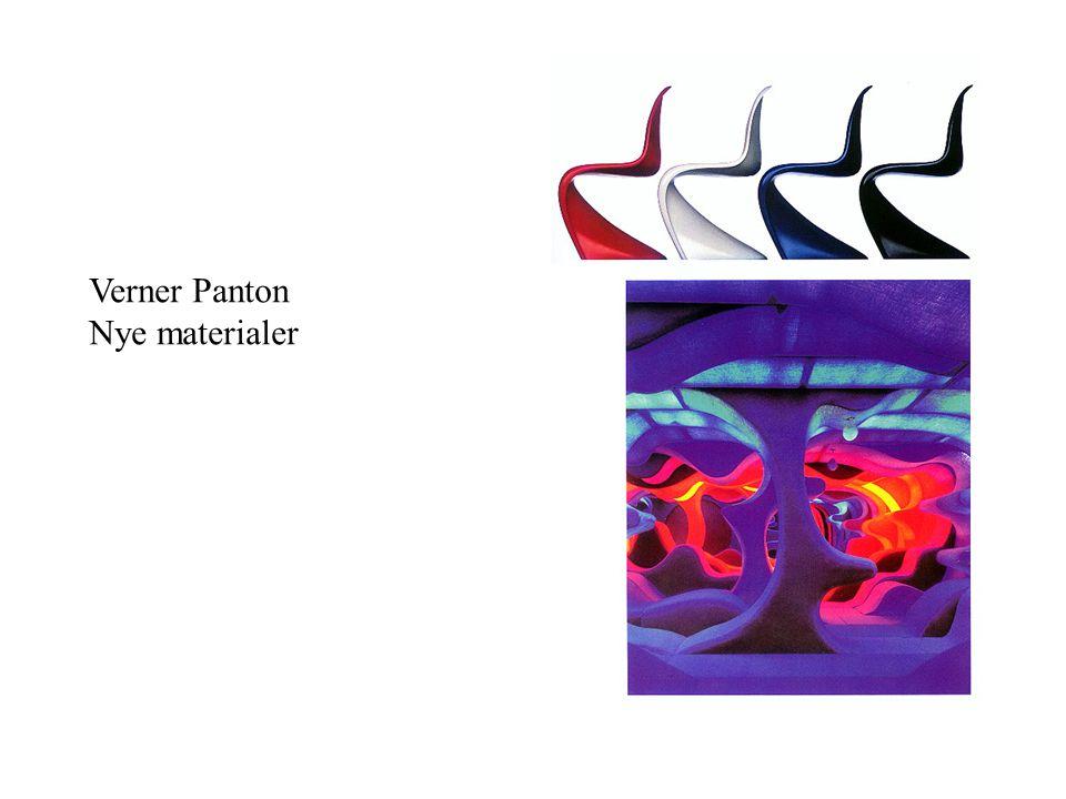 Verner Panton Nye materialer