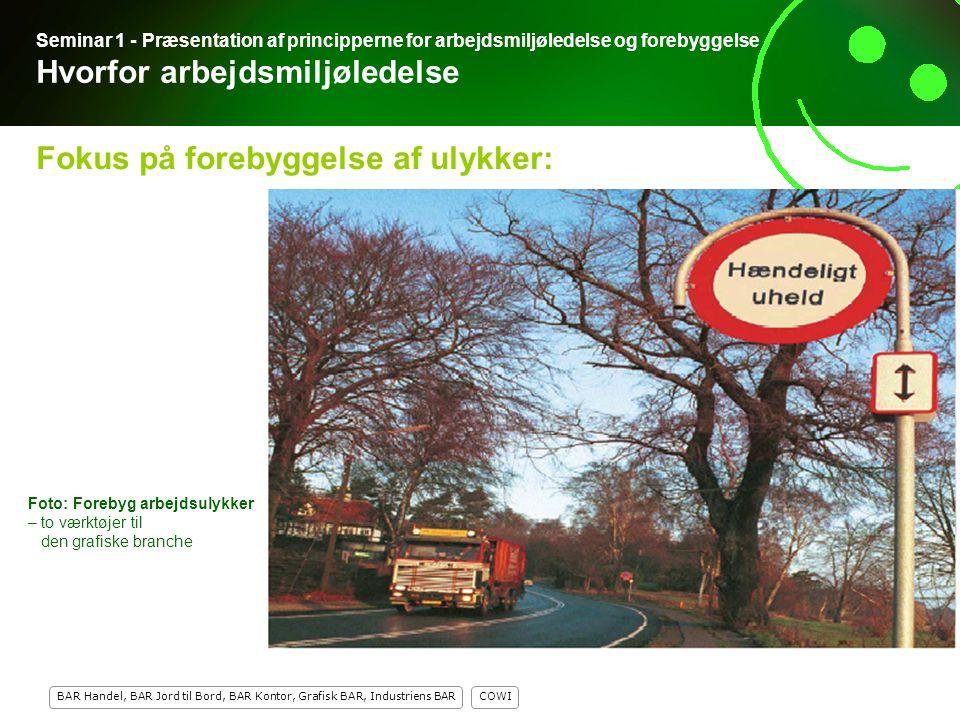 Fokus på forebyggelse af ulykker: