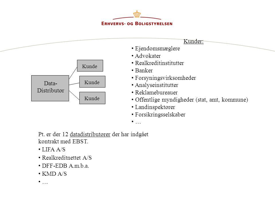 Realkreditinstitutter Banker Forsyningsvirksomheder Analyseinstitutter