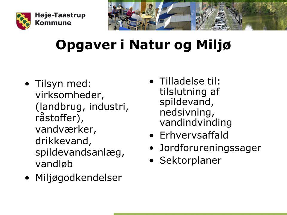 Opgaver i Natur og Miljø