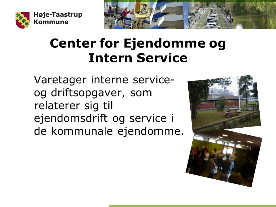 Center for Ejendomme og Intern Service