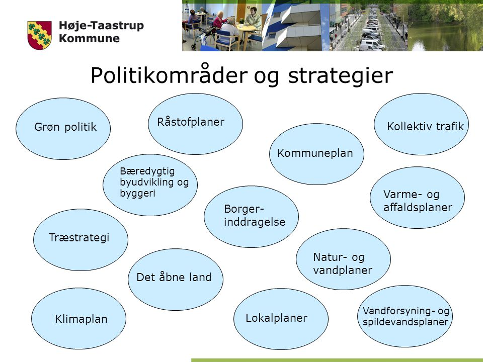 Politikområder og strategier