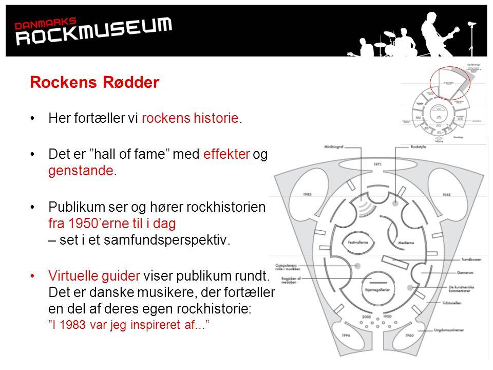Rockens Rødder Her fortæller vi rockens historie.