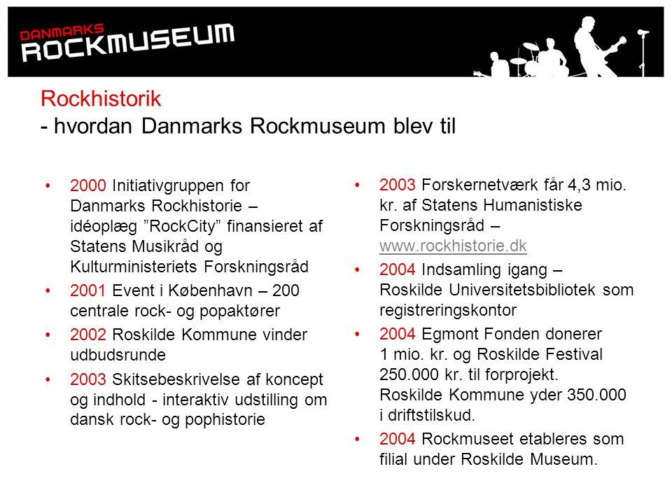 Rockhistorik - hvordan Danmarks Rockmuseum blev til