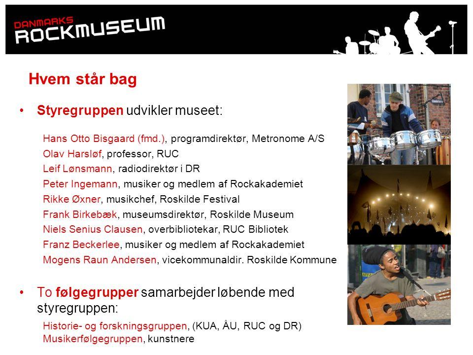 Hvem står bag Styregruppen udvikler museet: