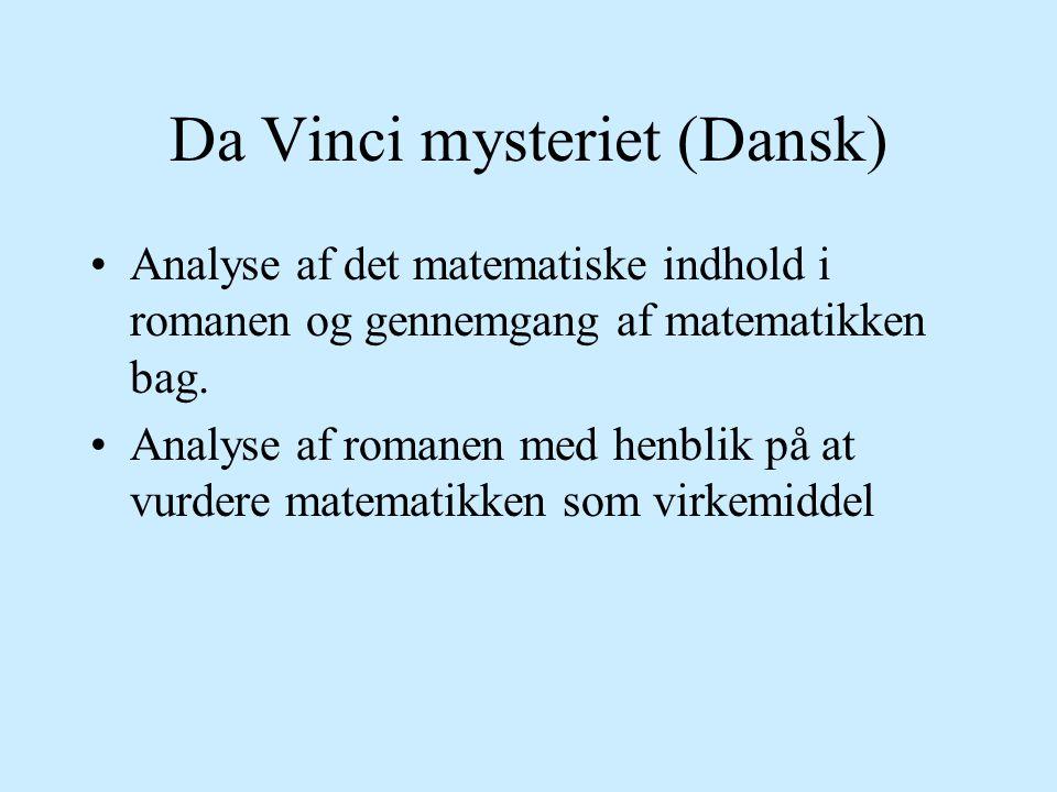 Da Vinci mysteriet (Dansk)