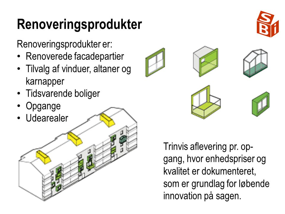 Renoveringsprodukter