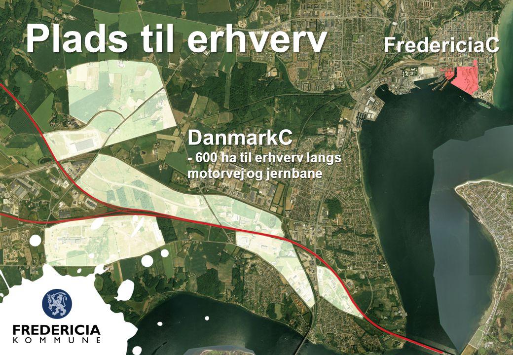 Plads til erhverv FredericiaC DanmarkC