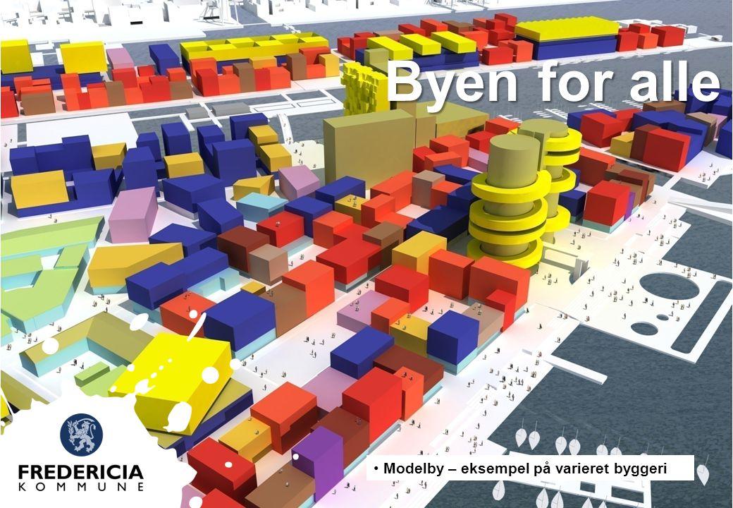 Byen for alle Modelby – eksempel på varieret byggeri