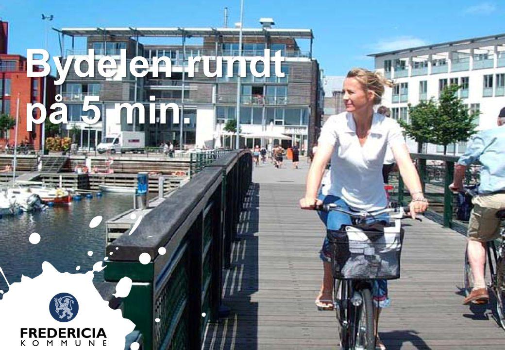 Bydelen rundt på 5 min. Byggeriet skal tage udgangspunkt i en 5-minutters-filosofi .