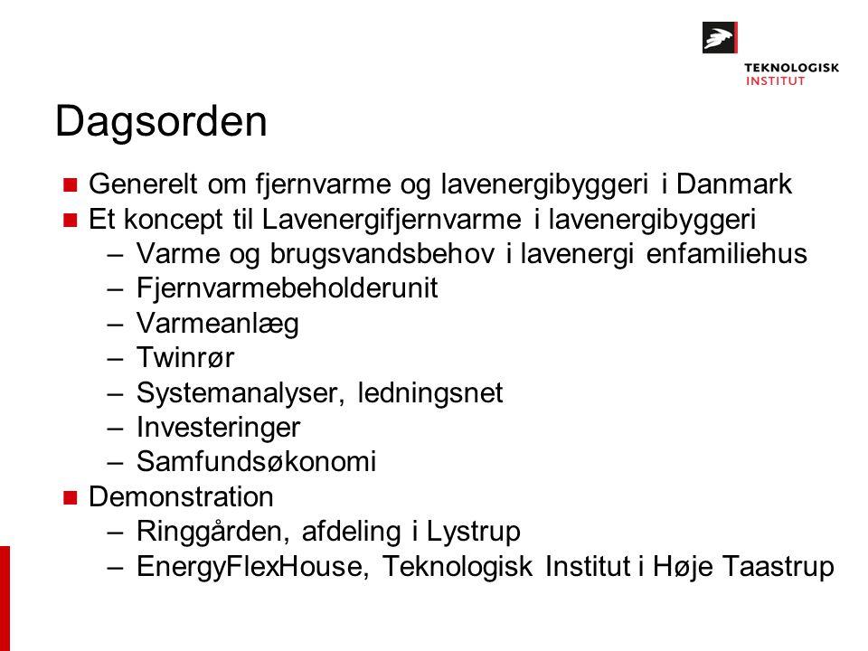 Dagsorden Generelt om fjernvarme og lavenergibyggeri i Danmark