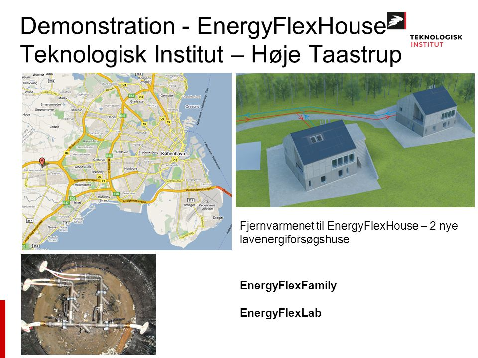 Demonstration - EnergyFlexHouse Teknologisk Institut – Høje Taastrup