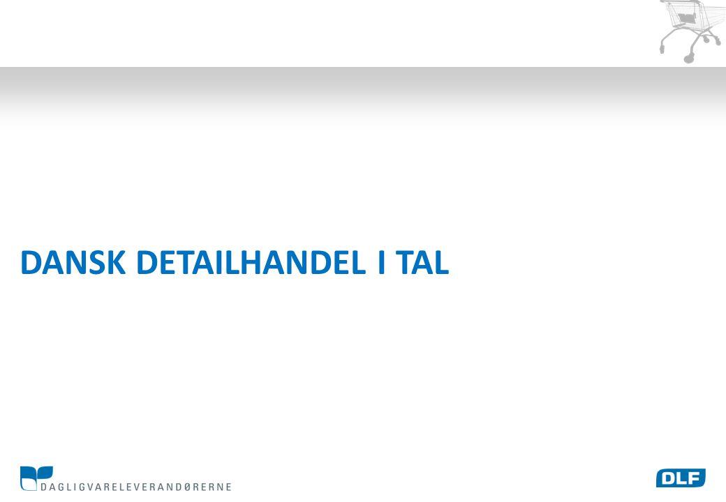 DANSK DETAILHANDEL I TAL